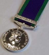 GSM - Northern Ireland Clasp